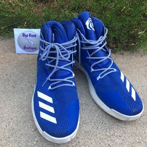 Adidas D Rose 7 Boost Basketball Shoes Blue